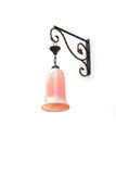 Pink classic hang lantern Stock Photos