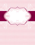 Pink classical background,  Stock Images
