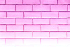 Pink clean rectangle brick texture wall for background : Abstrac Royalty Free Stock Photo
