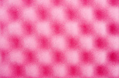 Pink cleaning sponge Royalty Free Stock Photo