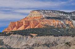 Pink Cliffs Stock Photography