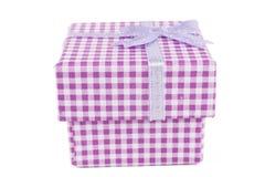 Pink Closed Box Royalty Free Stock Image