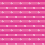 Pink cloth with white dots Royalty Free Stock Images