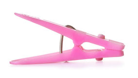 Pink Clothespin Royalty Free Stock Photography