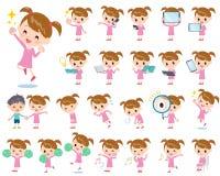 Free Pink Clothing Girl 2 Stock Photo - 64670750