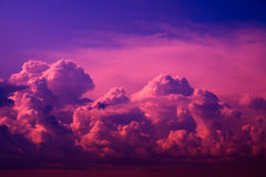 Pink clouds. Stock Photography