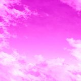 Pink clouds Royalty Free Stock Image