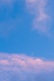Pink clouds Stock Photography