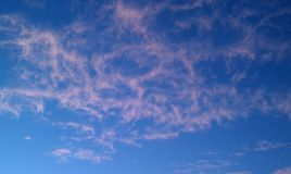 Pink Clouds Royalty Free Stock Photo