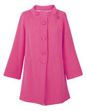Pink coat Royalty Free Stock Photography