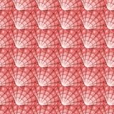 Pink cockleshells seamless pattern Stock Images