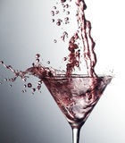 Pink Cocktail Royalty Free Stock Images