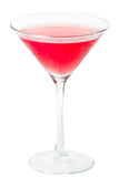 Pink cocktail Stock Image