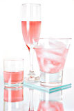 Pink cocktails Royalty Free Stock Image