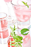 Pink cocktails Royalty Free Stock Photos