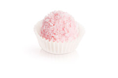 Pink coconut candy Stock Image