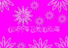 Pink color abstract design Stock Photo