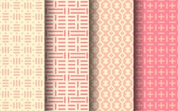 Pink color seamless pattern. Graphic design. Pink color art seamless pattern. Graphic design. EPS 10 vector Royalty Free Illustration