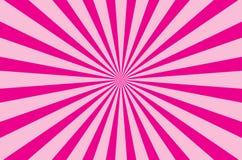 Pink color burst background. For print, gift, web, scrap and patchwork vector illustration