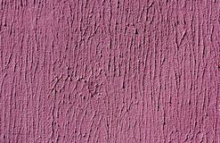 Pink color cement wall surface. Royalty Free Stock Images