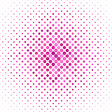 Pink color dot pattern background Stock Image