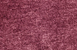 Pink color felt surface. Royalty Free Stock Photo