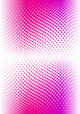 Pink color halftone. Vector Royalty Free Stock Photo