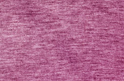 Pink color knitted cloth pattern. Stock Photo