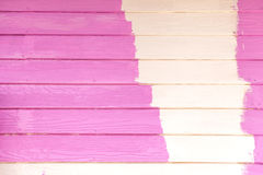 Pink color painting wall Royalty Free Stock Photo