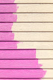 Pink color painting wall Stock Photo