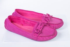 Pink  color sandal shoes Stock Photo