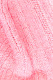 Pink color texture of knitted woolen fabric for wallpaper. Color Stock Photography