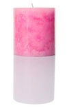 Pink Colored Aromatic Candle I Royalty Free Stock Photos