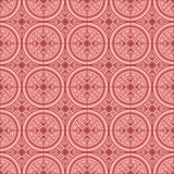 Pink Colors Round grid Pattern. Korean traditional Pattern Desig Royalty Free Stock Image