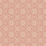 Pink Colors Round grid Pattern. Korean traditional Pattern Desig Stock Photos