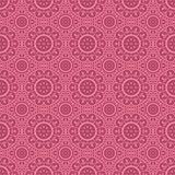Pink Colors Round grid Pattern. Korean traditional Pattern Desig Stock Images