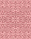 Pink Colors Wave Pattern. Korean traditional Pattern Design Seri Stock Photography