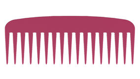 Pink comb Royalty Free Stock Images
