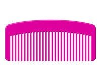 Pink comb Royalty Free Stock Photography