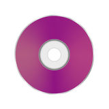 Pink Compact Disc Stock Image