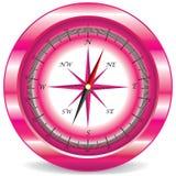 Pink compass Stock Photos