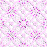 Pink complicated layered seamless Royalty Free Stock Photography