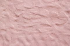 Pink concrete wall pattern Wave shape. Abstract pink cement wall. Abstract background for decorative Stock Photo