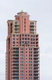 Pink Condos Stock Photos
