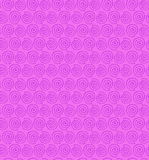 Pink contour spiral seamless pattern. Decorative l Stock Photography