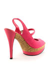 Pink cool woman shoe Stock Photo