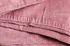 Pink corduroy Royalty Free Stock Photo