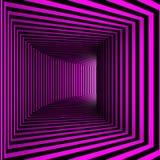 Pink corridor Stock Image