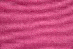Pink corrugate fabric texture Stock Images