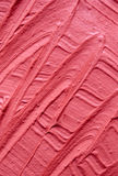 Pink cosmetic clay facial mask, cream texture close up, selective focus. Stock Photography